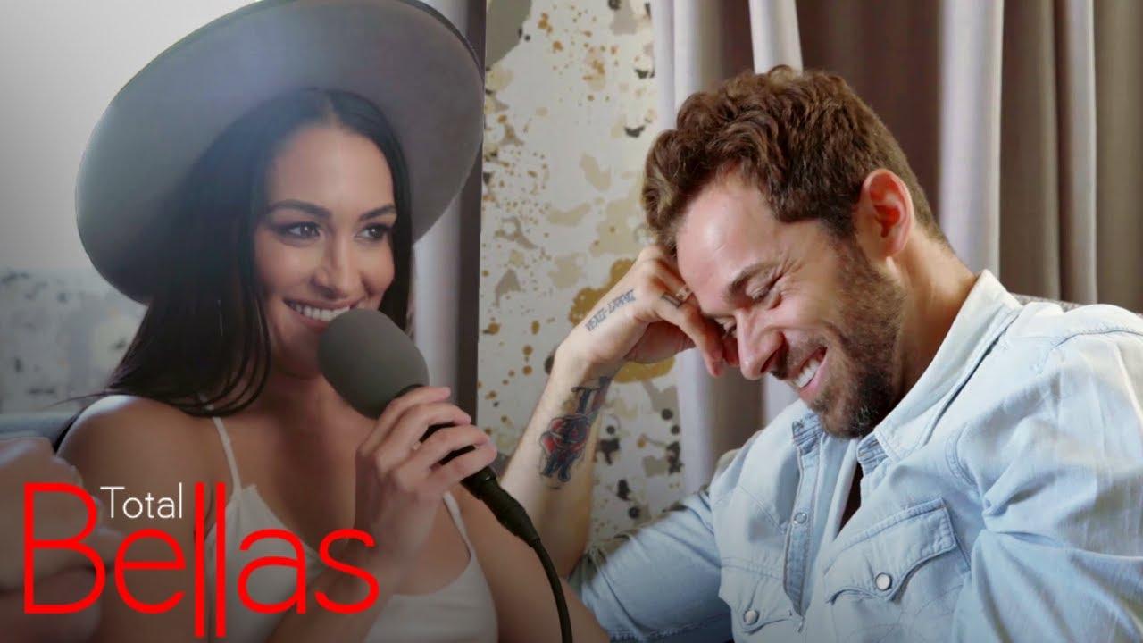Nikki Bella Asks Artem Chigvintsev to Move In and He Says... | Total Bellas