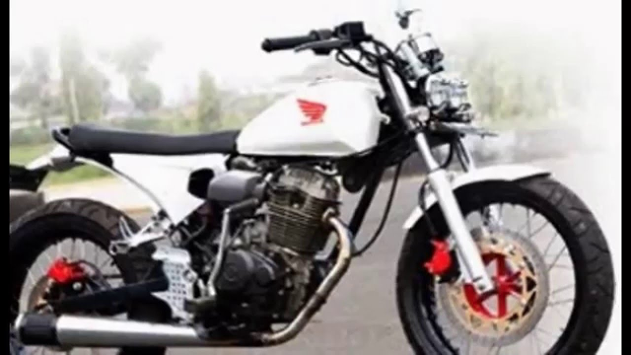 Modifikasi Motor Cb 100 YouTube