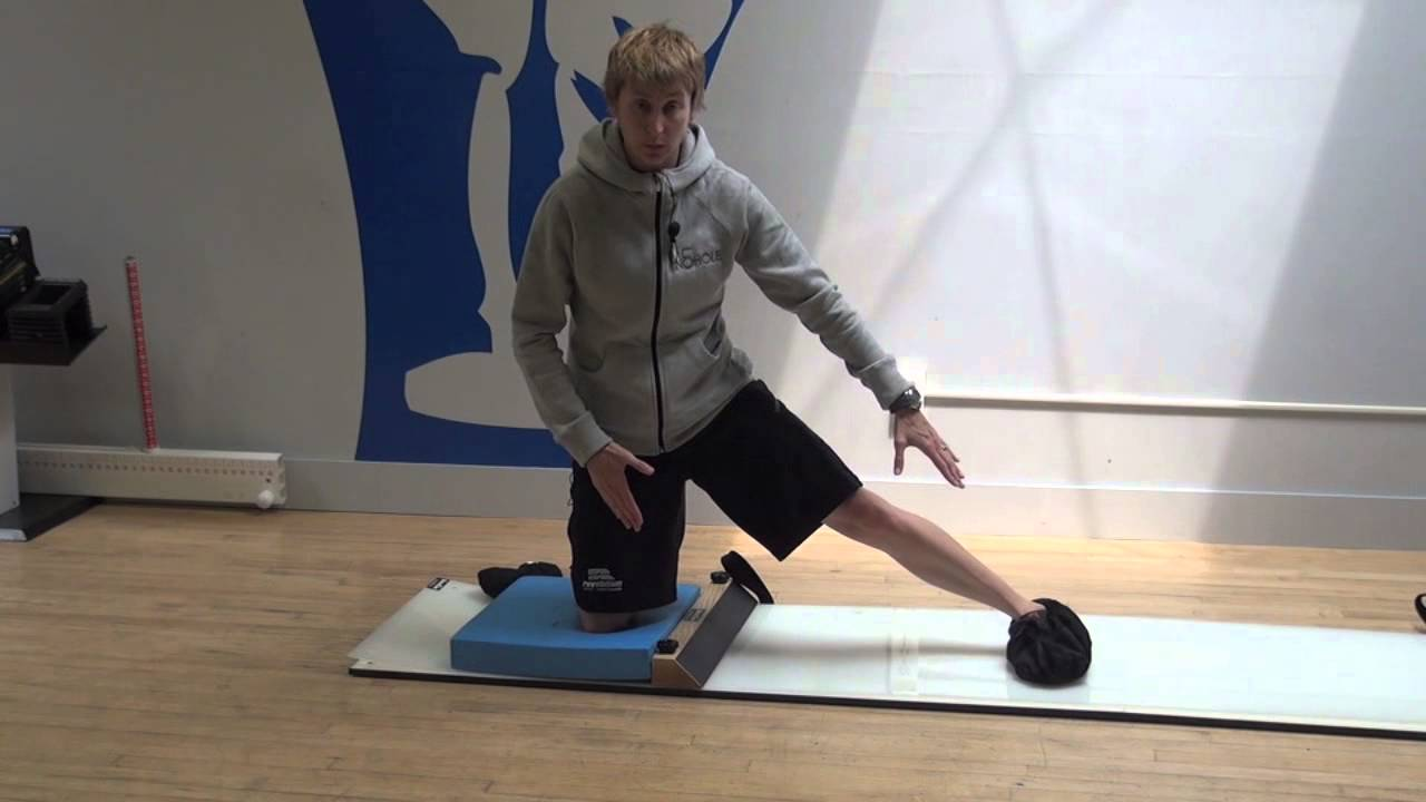 UltraSlide Slideboard Goalie Exercise