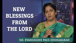 New Blessings from the Lord (Tamil) - Sis. Evangeline Paul Dhinakaran