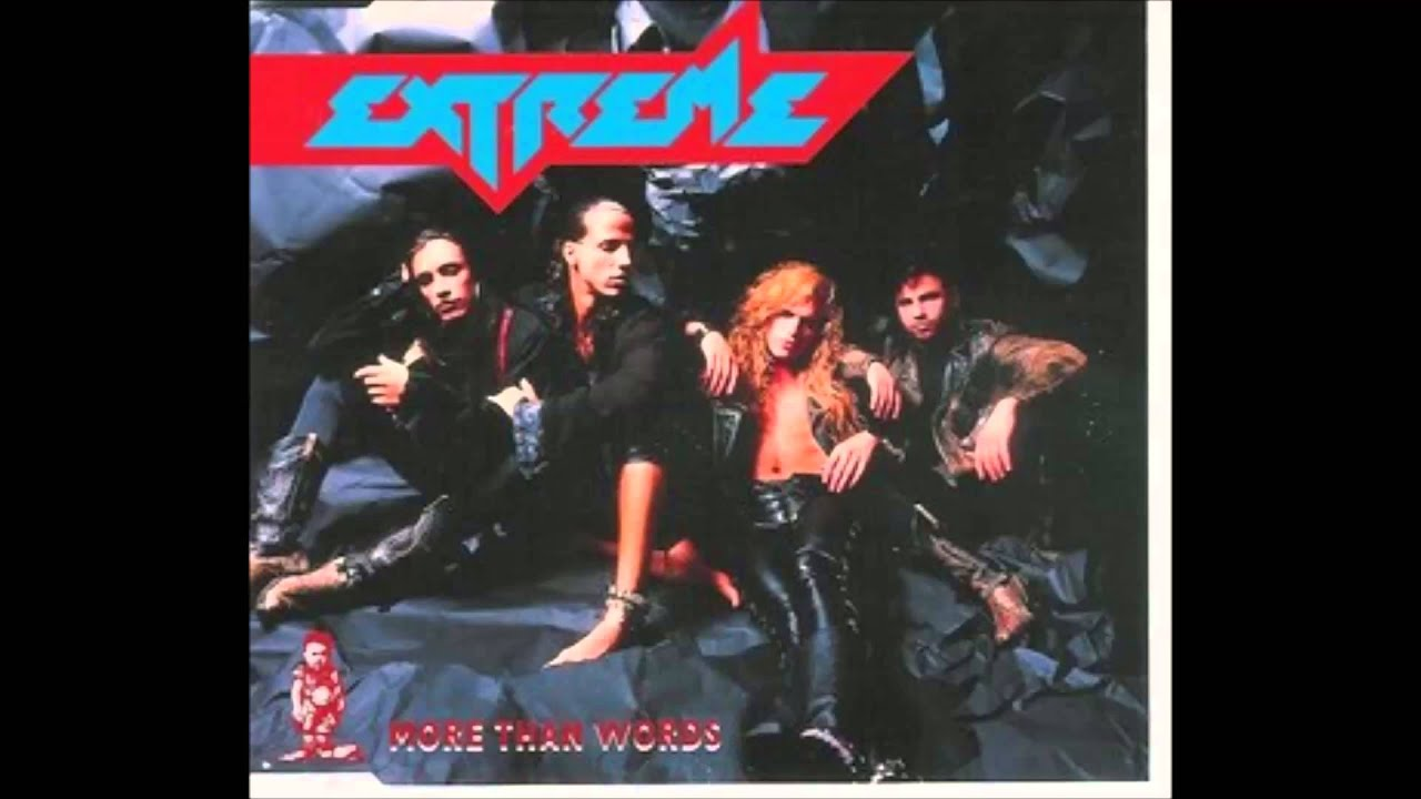 More than words extreme album version youtube for More com