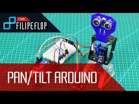 Controle Movimentos Pan/Tilt Com Joystick E Arduino