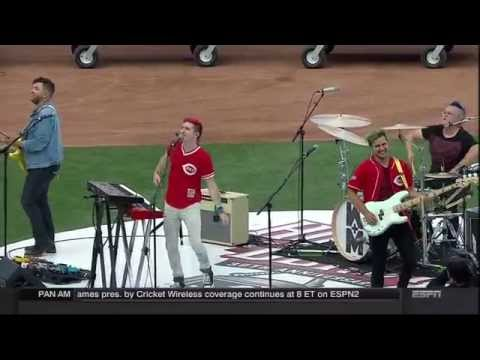 Walk The Moon - Shut up - Home Run Derby 2015 All-Star Game