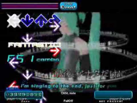 Stepmania - The Disappearance of Hatsune Miku (AA)
