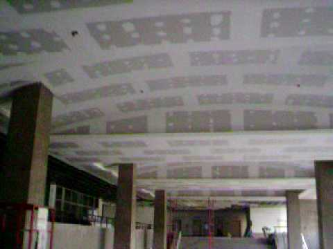 Sistema drywall techos acusticos sistema drywall for Techos en drywall modernos