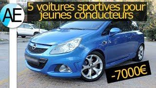 Top 5 meilleurs voitures sportives pour jeunes conducteurs - budget 7000€