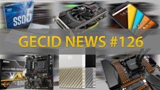 GECID News #126 ➜ ▪ видеокарты для майнинга SAPPHIRE ▪ релиз AMD Ryzen PRO ▪ ошибка в CPU Intel