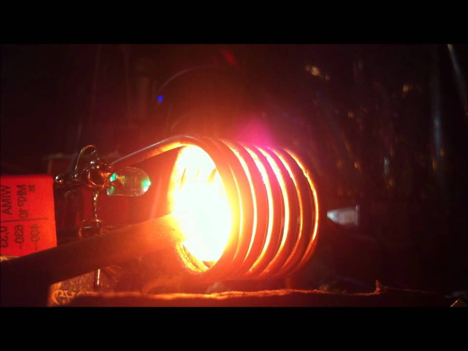 how to make an induction heater with a welder