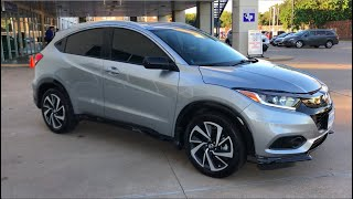 2019 Honda HR-V Sport Closer look