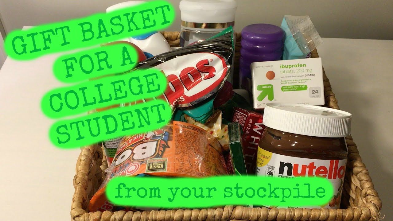 Gift Basket For College Student