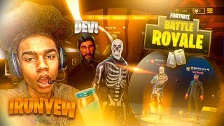 FORTNITE DEVELOPER GIVES ME HALLOWEEN SKIN • BEST FORTNITE SKIN