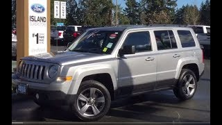 2015 Jeep Patriot Sport W/ Leather, Moonroof, AUX, AWD Review| Island Ford
