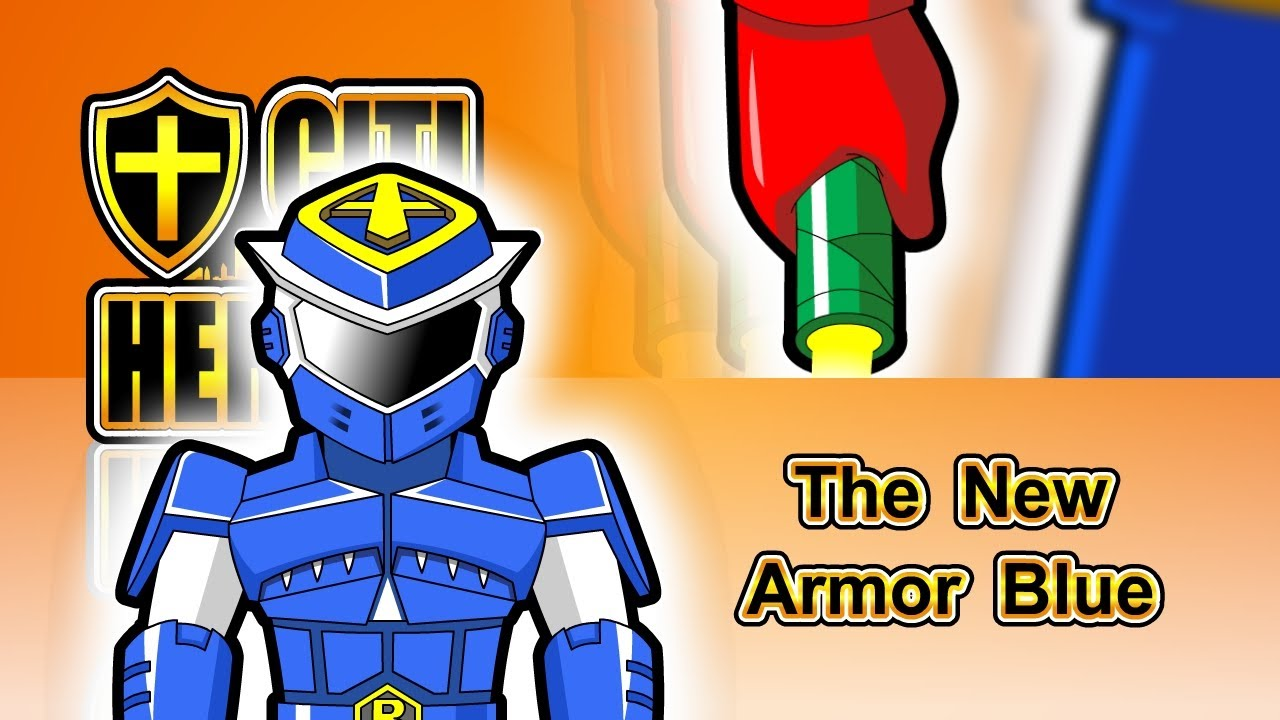 """Citi Heroes EP118 """"The New Armor Blue"""""""