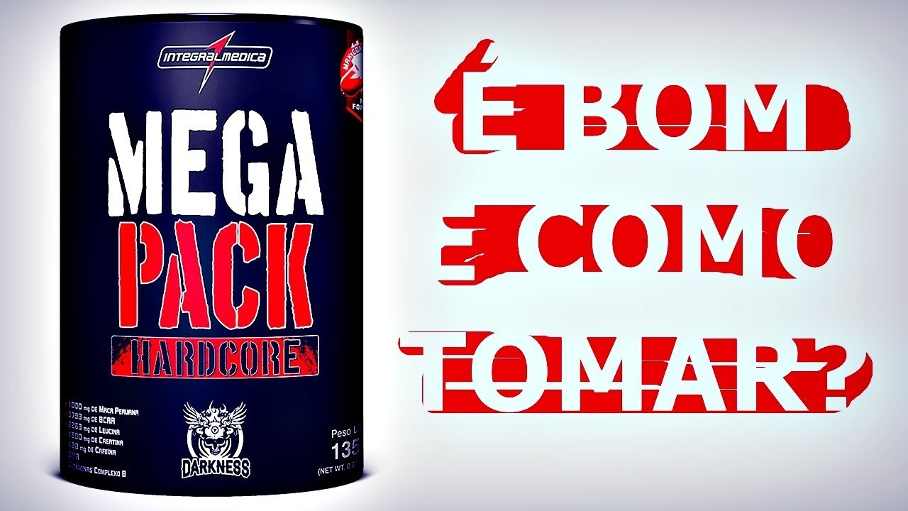 b6f3ba4f2 Mega Pack Integralmédica É BOM E COMO TOMAR  - YouTube