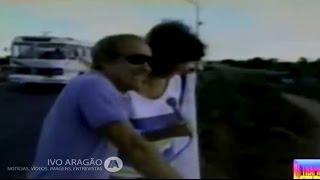 Renato Aragão em Sobral-CE, por ocasião do Globo Repórter exibido em 23/12/1988.