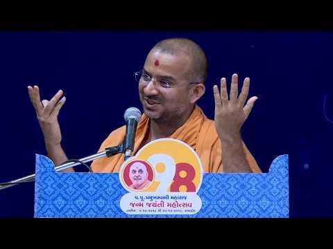 Think Different Be Different - Pravachan by Pu. Apurvamuni Swami || BAPS Rajkot || 2018