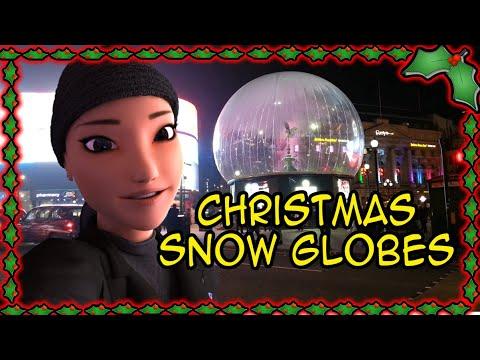 ❄ London Christmas Snow Globes ❄