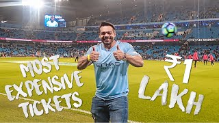 Most expensive tickets | Manchester city vs Liverpool EPL