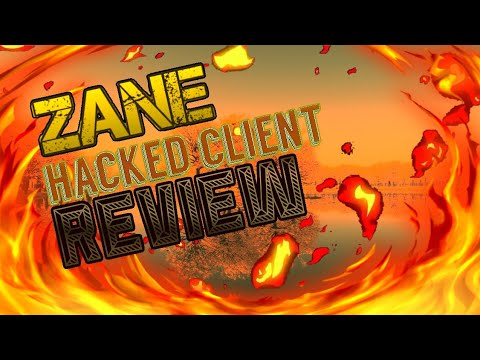 MCPE 1.2.0 ZANE HACKED CLIENT REVIEW