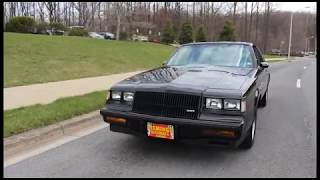 1987 Buick Regal Grand National for sale with test drive, driving sounds, and walk through video