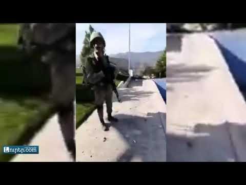 Ադրբեջանցիները՝ Ռուբեն Հայրապետյանի՝ Շուշիի տանը