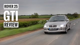 rover 25 GTI Review  The British Hot Hatch