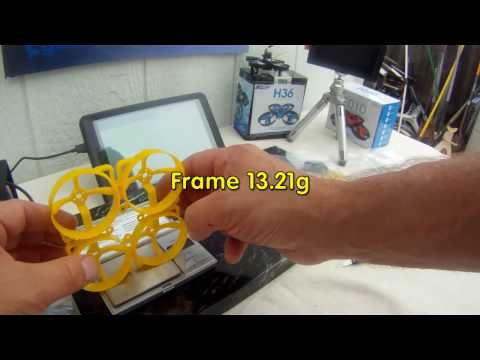 Pre-Build & Un-Boxing Weigh-In of CrazePony HK Doinker 80MM Inductrix FPV Drone Parts.