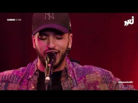 Slimane - Le vide en live sur NRJ