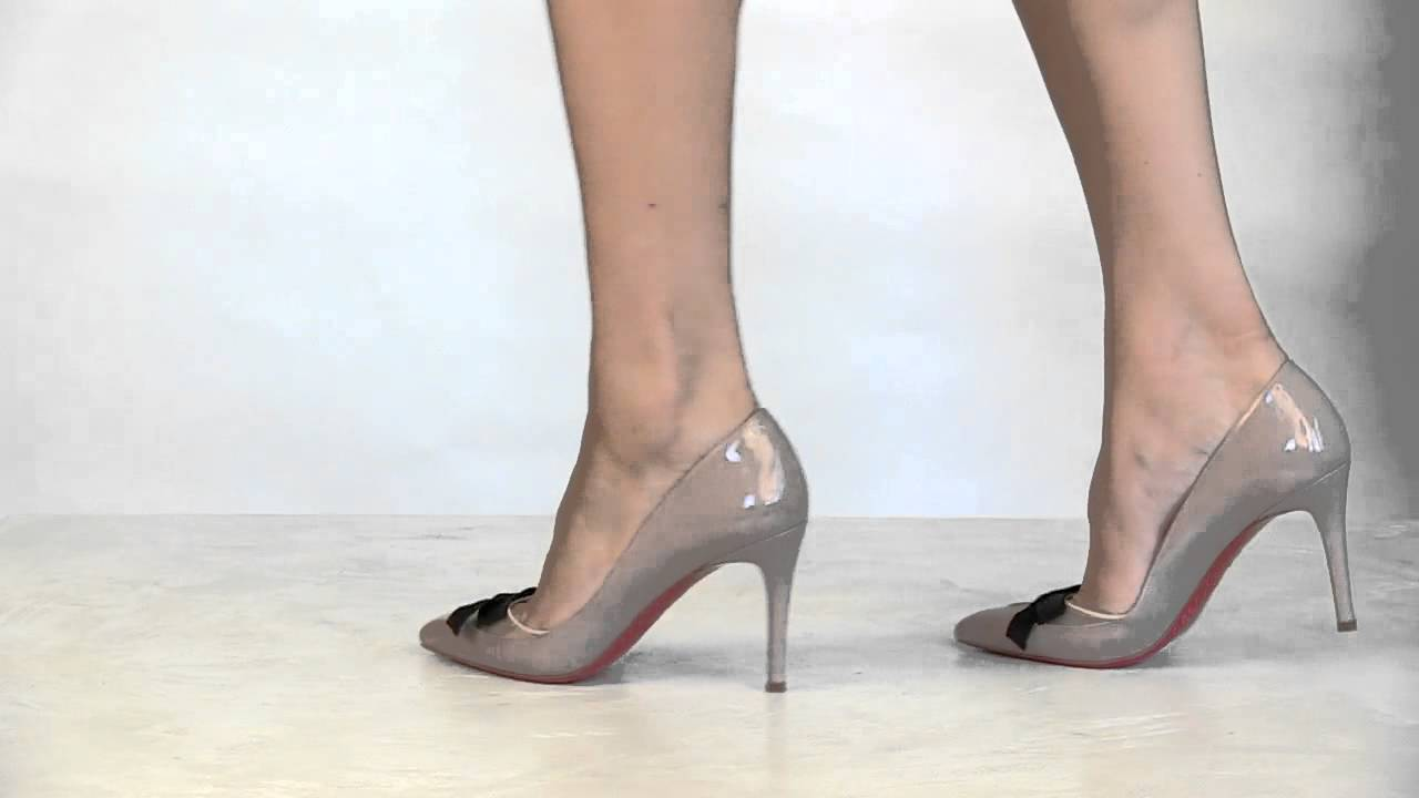 755af220f559 Footcandy Shoes Christian Louboutin Love Me 85 - YouTube