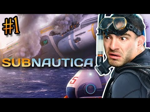 Subnautica Ep. 1 Uncut - Everything Is Scary
