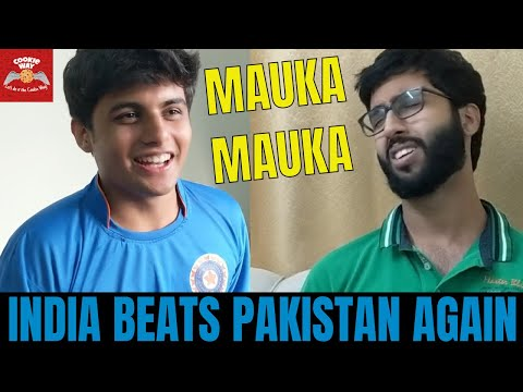 India Wins Against Pakistan | World Cup 2019 | Mauka Mauka | Crown Cricket Ka