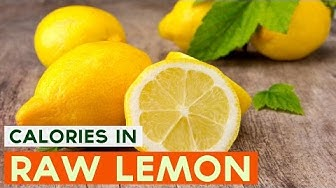 Calories in Lemon and Nutrition Facts   How Many Calories in Lemon