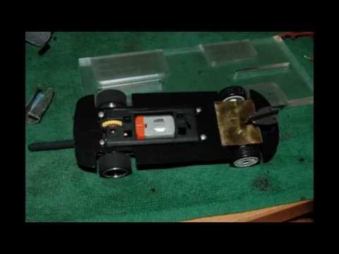 Diecast Revell 132 conversion slot car)