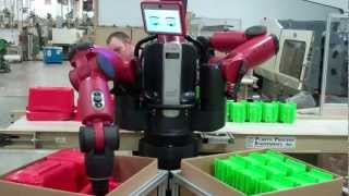 Baxter, the Robot in action with K