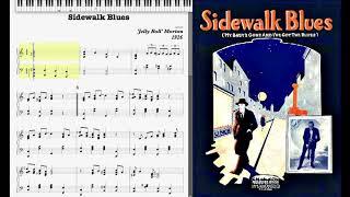 Sidewalk Blues by Jelly Roll Morton (1926, Blues piano)