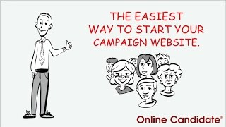 Political Campaign Websites by Online Candidate : Overview