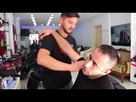 ASMR Turkish Barber Face,Head and Body Massage 53