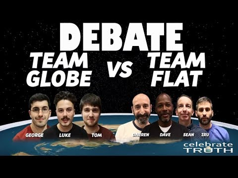 History Making FLAT EARTH vs SCIENTISTS Debate