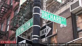 New York City - Video Tour of the Lower East Side of Manhattan (Part 1)