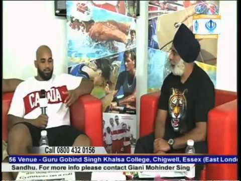 Arjan Singh Bhullar (Wrestling athlete) -  Olympics 2012 London (Exclusive Interview)