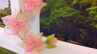 Yvone Lobato – Flor Kanzashi Especial