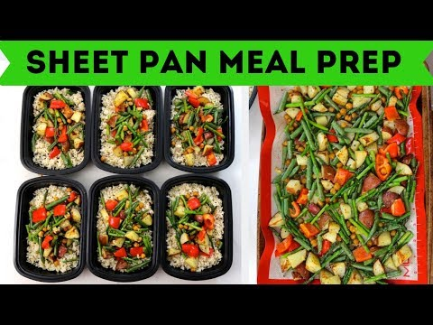 Sheet Pan Dinner || Vegan Meal Prep ($1.50/serving)