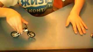 обучение трюков на BMX