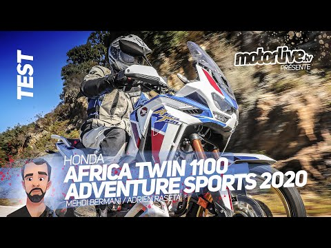 HONDA AFRICA TWIN 1100 ADVENTURE SPORTS 2020 I TEST MOTORLIVE
