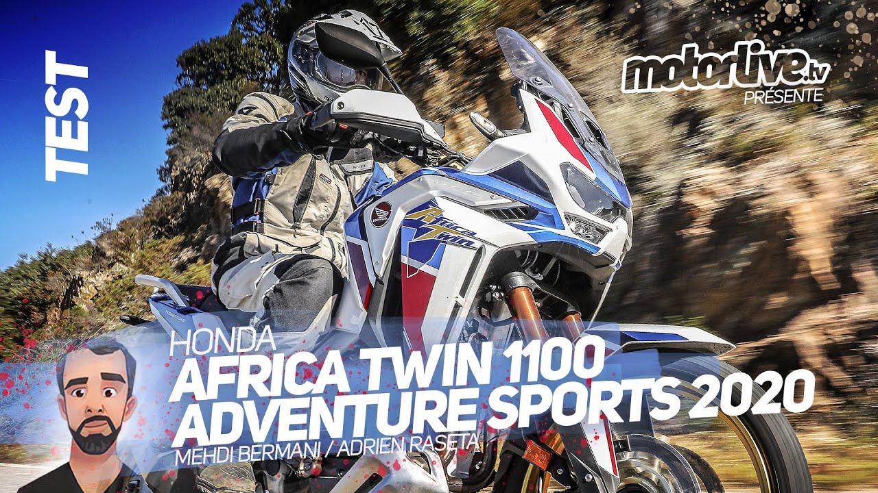 HONDA AFRICA TWIN 1100 ADVENTURE SPORTS 2020 I TEST MOTORLIVE