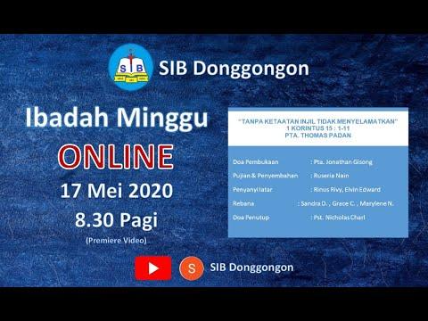 Ibadah Online SIB Donggongon - 17 May 2020