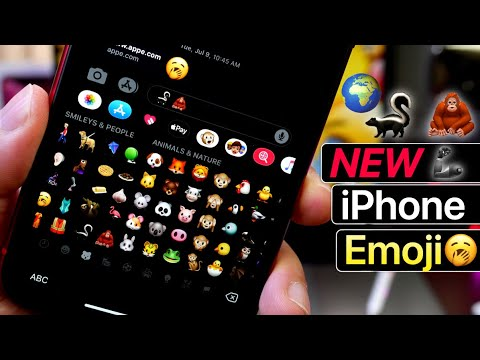 Apple Unveils New Emoji's Coming To The IPhone - World Emoji Day 🌎 🌤