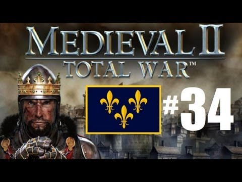 Medieval 2 Total War - France Campaign Part 34: Fighting for money.