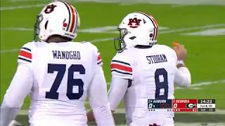 Auburn Football vs Georgia Highlights