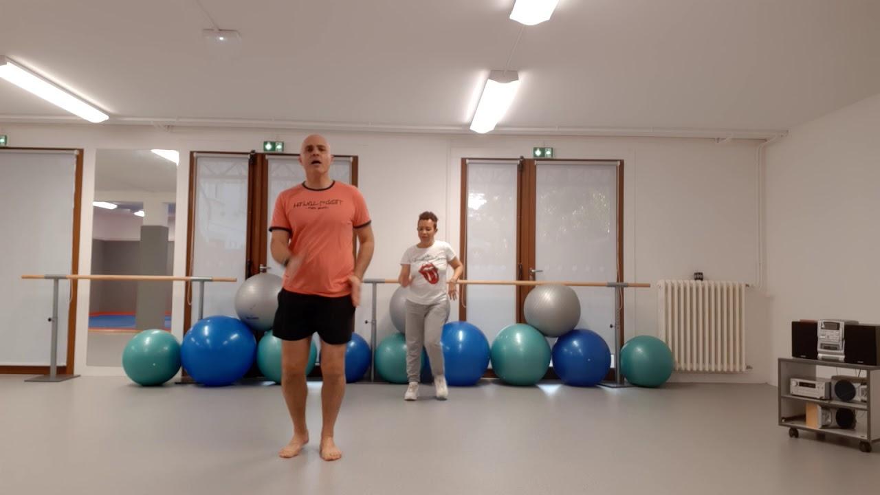 Un duo très sportif : Gym cardio et cardio dance